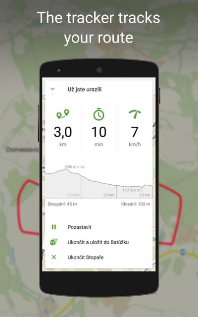 Mapy.cz - Cycling & Hiking Maps with navigation - Android Apps on Google Play