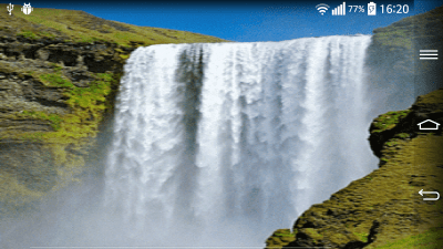 Waterfall Live Wallpaper With - Android Apps on Google Play