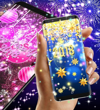 Happy new year 2018 live wallpaper - Android Apps on Google Play