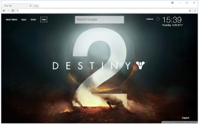 Destiny 2 Wallpapers HD New Tab Themes - Free Addons