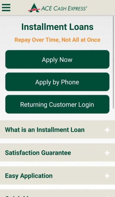 ACE Cash Express Mobile Loans - Android Apps on Google Play