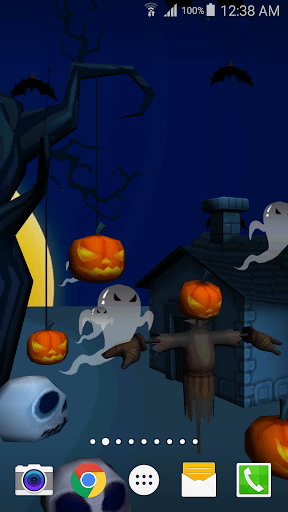 Download 3D Halloween Live Wallpaper for PC