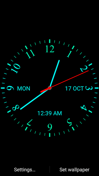 Analog Clock Live Wallpaper - Android Apps on Google Play