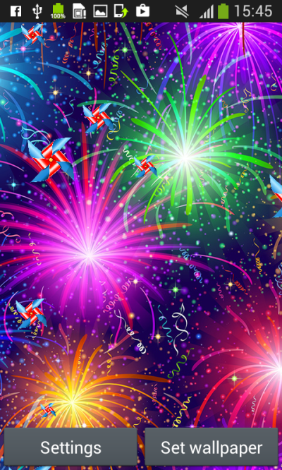Fireworks Live Wallpapers - Android Apps on Google Play