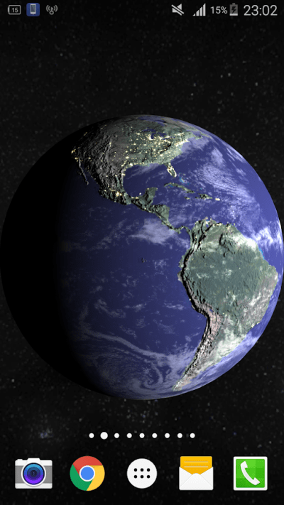 3D Earth Live Wallpaper PRO HD - Android Apps on Google Play