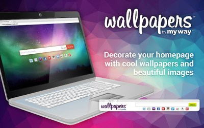 Wallpapers by MyWay - Chrome Web Store