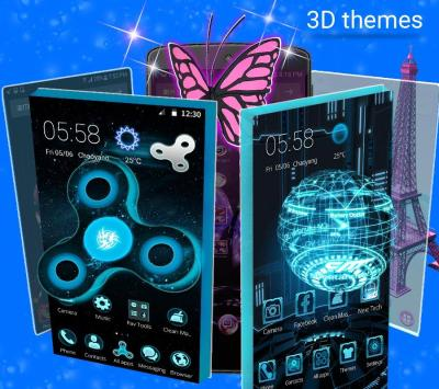 CM Launcher 3D - HD Theme & Live Wallpaper - Android Apps on Google Play