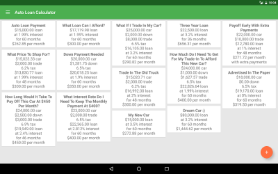Auto Loan Calculator - Android Apps on Google Play