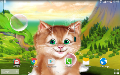 Kitten Live Wallpaper - Android Apps on Google Play
