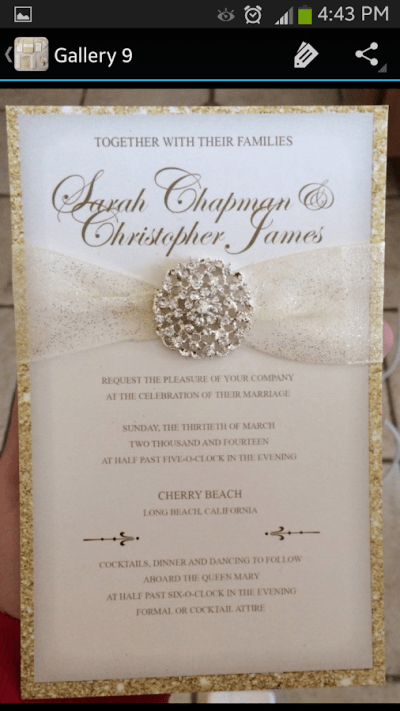 Wedding Invitations - Android Apps on Google Play