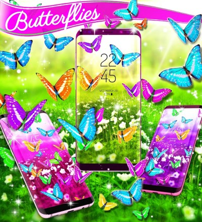 Butterflies live wallpaper - Android Apps on Google Play