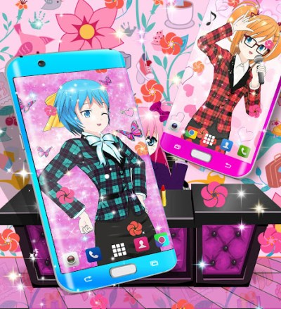Anime live wallpaper app (apk) free download for Android/PC/Windows