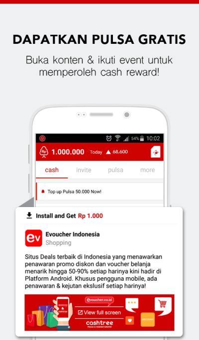 Cashtree: Pulsa Hadiah Gratis - Android Apps on Google Play