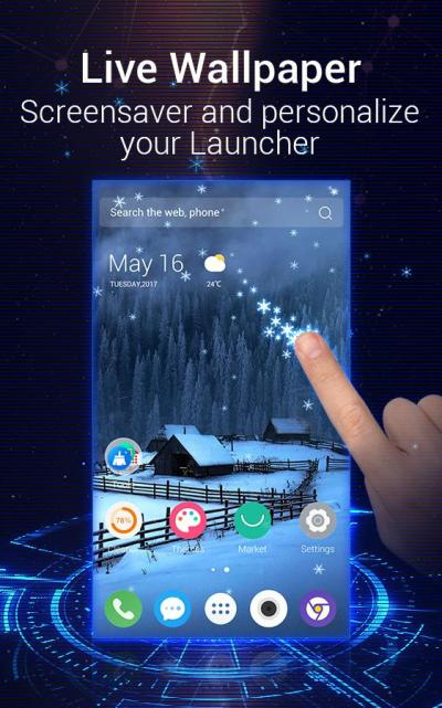 U Launcher 3D – Live Wallpaper, Free Themes, Speed - Android Apps on Google Play