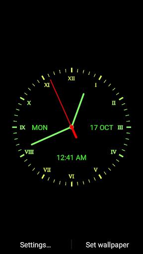 Download Analog Clock Live Wallpaper Google Play softwares - aC4sudopJ96Z | mobile9