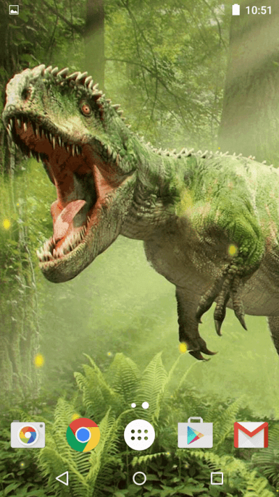 Dinosaur Live Wallpaper - Android Apps on Google Play