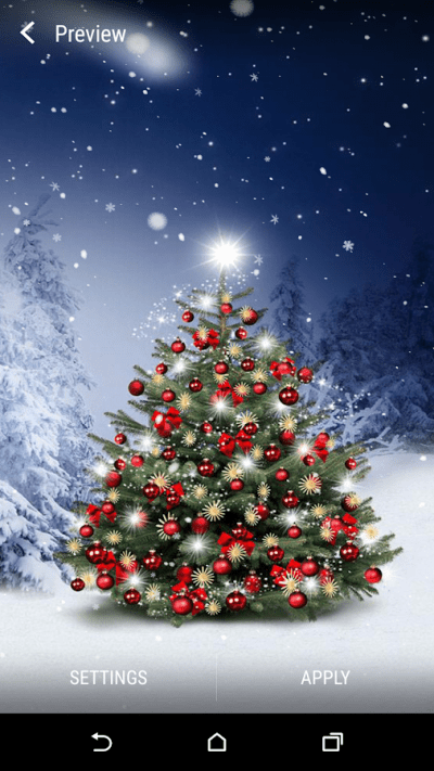 Christmas Tree Live Wallpaper - Android Apps on Google Play