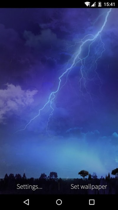 Lightning Storm Live Wallpaper - Android Apps on Google Play