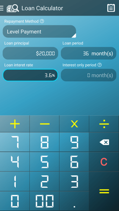 Loan Calculator - Android Apps on Google Play