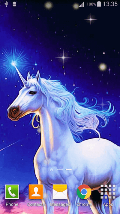 Cartoon Unicorn Live Wallpaper - Android Apps on Google Play