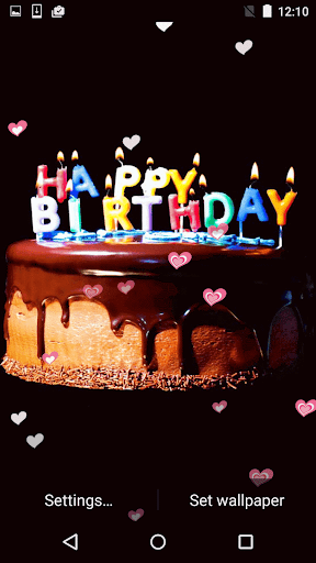 Happy Birthday Live Wallpaper for Android