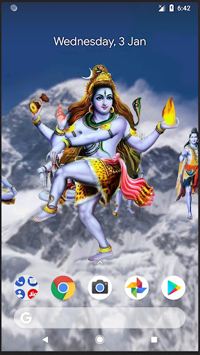 Download 4D Shiva Live Wallpaper for PC