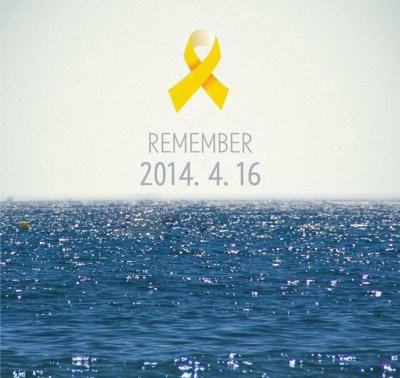 16 Idols Who Paid Their Respects to Victims of the Sewol Ferry Tragedy on its 3rd ...