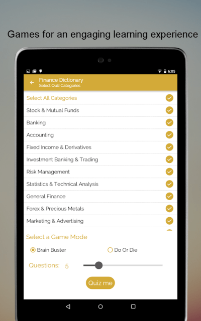 Financial Terms Dictionary - Android Apps on Google Play