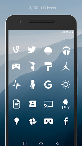 Flight - Flat Minimalist Icons (Pro Version) 2.9.0 APK by Nate Wren Design Details