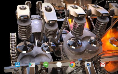 Download New 3D Engine Live Wallpaper for PC