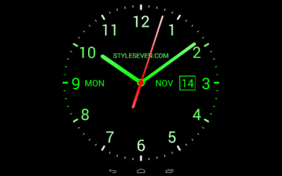 Analog Clock Live Wallpaper-7 - Android Apps on Google Play