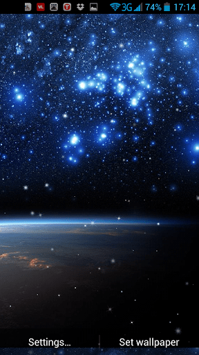 Download Galaxy Live Wallpaper for PC