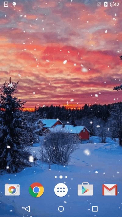 Winter Snow Live Wallpaper - Android Apps on Google Play