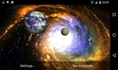 3D Galaxy Live Wallpaper Full - Android Apps on Google Play