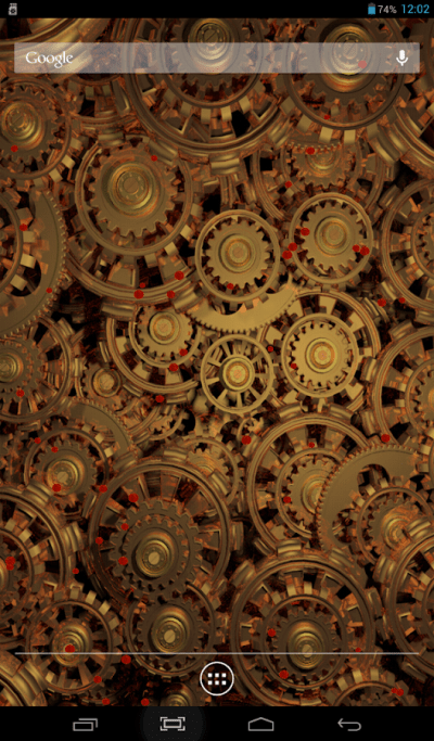 Steampunk Gears Live Wallpaper - Android Apps on Google Play