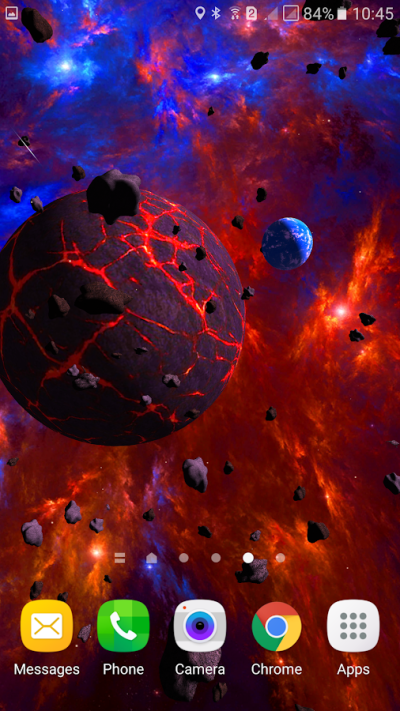 Asteroids 3D live wallpaper - Android Apps on Google Play