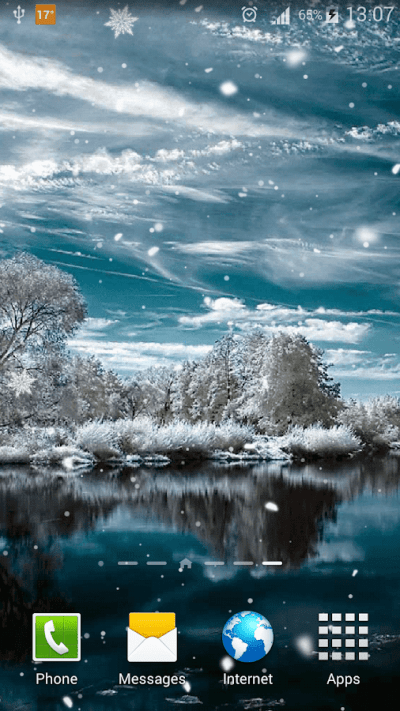 Snow Live Wallpaper HD - Android Apps on Google Play