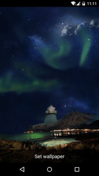 Amazing Aurora Live Wallpaper - Android Apps on Google Play