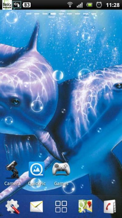 free dolphin live wallpaper - Android Apps on Google Play