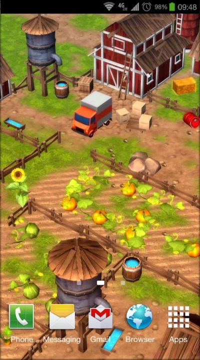 Cartoon Farm 3D Live Wallpaper - Android Apps on Google Play