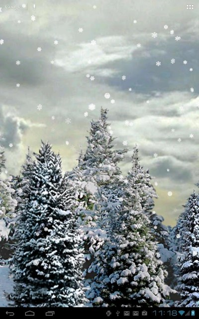 Snowfall Free Live Wallpaper - Android Apps on Google Play