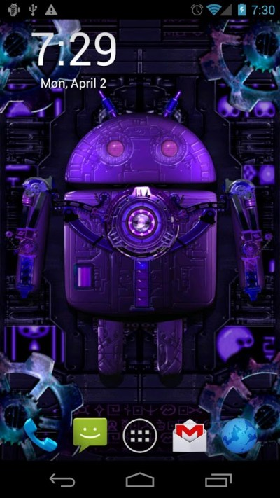 Steampunk Droid Live Wallpaper - Android Apps on Google Play