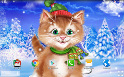 Winter Cat Live Wallpaper - Android Apps on Google Play