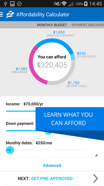 Zillow Mortgage Calculator - Android Apps on Google Play