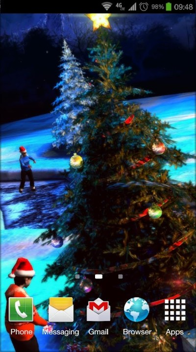 Christmas 3D Live Wallpaper - Android Apps on Google Play