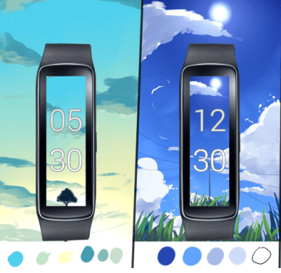 Gear Fit Dynamic Clock - Android Apps on Google Play