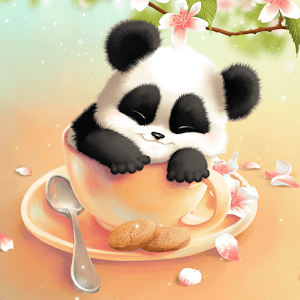 Sleepy Panda Live Wallpaper - Android Apps on Google Play