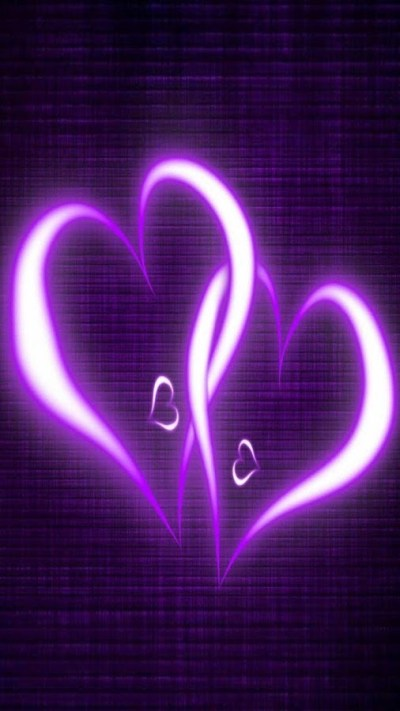 Purple Hearts Live Wallpaper - Android Apps on Google Play