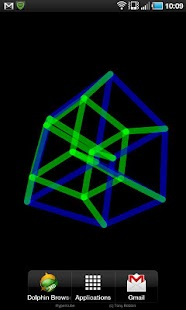 Download 4D Hypercube Live Wallpaper APK on PC | Download Android APK GAMES & APPS on PC