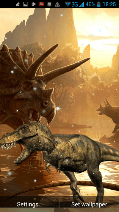 Dinosaurs Live Wallpaper - Android Apps on Google Play